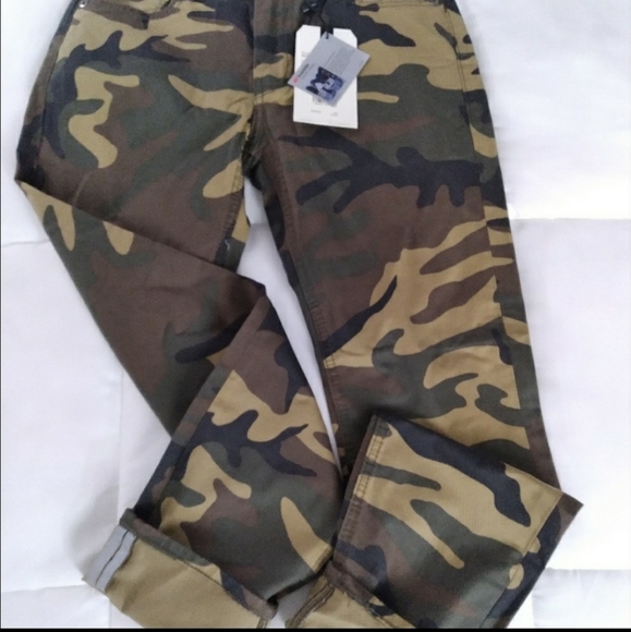 Levi's 511 Camo Commuter Pants 33W 32L